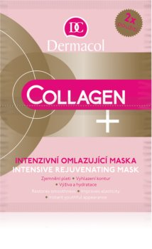 Dermacol Collagen+ fiatalító maszk
