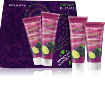Dermacol Aroma Ritual Grape & Lime Cosmetic Set (for Body)