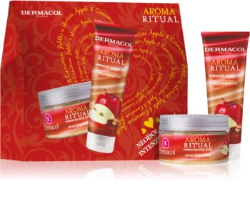 Dermacol Aroma Ritual Apple & Cinnamon Cosmetic Set (for Body)