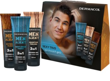 Dermacol Men Agent Cosmetic Set III. for Men