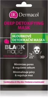 Dermacol Black Magic Detox-Tuchmaske