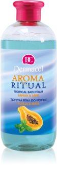Dermacol Aroma Ritual Papaya & Mint pena do kúpeľa