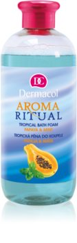 Dermacol Aroma Ritual Papaya & Mint spuma de baie