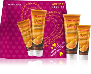 Dermacol Aroma Ritual Belgian Chocolate Gift Set (for Hands and Body)