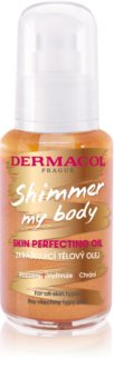 Dermacol Shimmer My Body óleo corporal aveludado com glitter