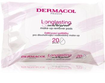 Dermacol Cleansing lingettes démaquillantes maquillage waterproof et résistant