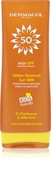 Dermacol Sun Water Resistant Lotiune pentru protectie solara , rezistenta la apa, pentru copii SPF 50