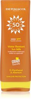 Dermacol Sun Water Resistant vodeodolné mlieko na opaľovanie pre deti SPF 50