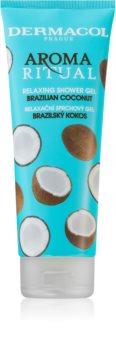 Dermacol Aroma Ritual Brazilian Coconut gel de duche relaxante