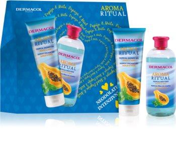 Dermacol Aroma Ritual Papaya & Mint darčeková sada (na telo)