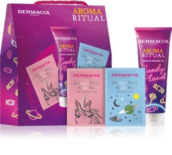 Dermacol Aroma Ritual Candy Planet ajándékszett (testre és arcra)