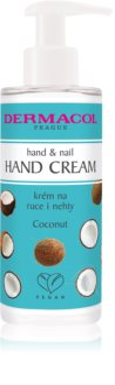 Dermacol Super Care Coconut eine Crem zum Schutz von Händen und Nägeln