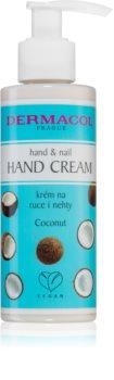 Dermacol Super Care Coconut krém na ruky a nechty