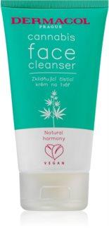 Dermacol Cannabis почистващ крем  за лице