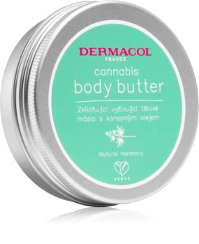 Dermacol Cannabis vyživující tělové máslo