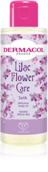 Dermacol Flower Care Lilac Луксозно подхранващо масло за тяло
