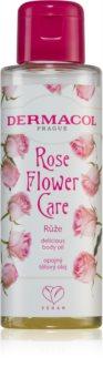 Dermacol Flower Care Rose óleo corporal nutritivo de luxo