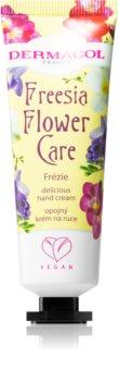 Dermacol Flower Care Freesia creme de mãos