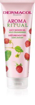 Dermacol Aroma Ritual Wild Strawberries Saftig brusegel