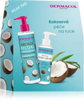 Dermacol Aroma Ritual Brazilian Coconut Geschenkset (für Hände und Fingernägel)