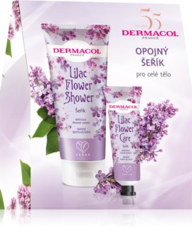 Dermacol Flower Shower Lilac подарочный набор (для нежной и гладкой кожи)