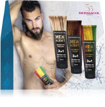 Dermacol Men Agent Mix dárková sada (do sprchy) pro muže