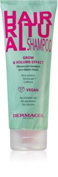 Dermacol Hair Ritual erneuerndes Shampoo für mehr Haarvolumen