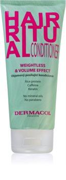 Dermacol Hair Ritual erősítő kondicionáló a hajtérfogat növelésére