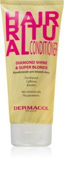 Dermacol Hair Ritual balzam za blond lase