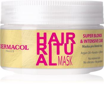 Dermacol Hair Ritual maszk szőke hajra