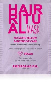 Dermacol Hair Ritual maszk a szőke hideg árnyalataiért