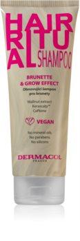Dermacol Hair Ritual megújító sampon a barna árnyalatú hajra