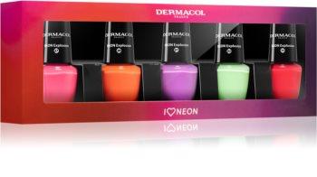 Dermacol Neon sada laků na nehty