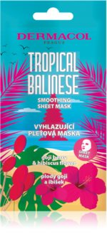 Dermacol Tropical Balinese Sheet Mask with Smoothing Effect