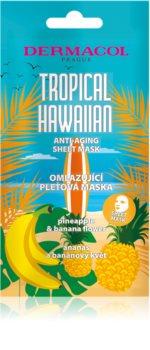 Dermacol Tropical Hawaiian masque tissu effet rajeunissant