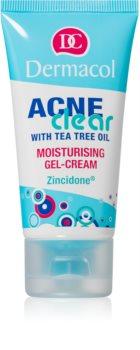 Dermacol Acneclear hidratantna gel-krema za problematično lice, akne