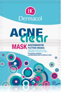 Dermacol Acneclear Face Mask for Problematic Skin, Acne
