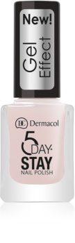 Dermacol 5 Day Stay lak za nokte s gel efektom