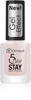 Dermacol 5 Day Stay Nagellack mit Geleffekt