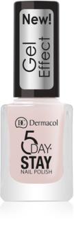 Dermacol 5 Day Stay лак для нігтів з гелевим ефектом