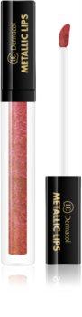 Dermacol Metallic Lips Flüssig-Lippenstift Metallic