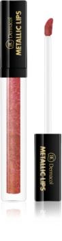Dermacol Metallic Lips Metallic Liquid Lipstick