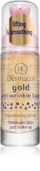 Dermacol Gold Egységesítő sminkalap a ráncok ellen