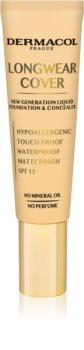 Dermacol Longwear Cover fluid make-up SPF 15
