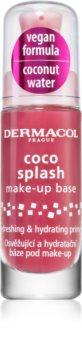 Dermacol Coco Splash feuchtigkeitsspendender Primer unter dem Make-up