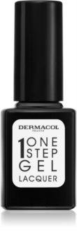 Dermacol One Step Gel Lacquer lak na nehty s gelovým efektem