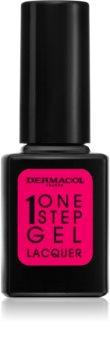 Dermacol One Step Gel Lacquer lakier do paznokci z żelowym efektem