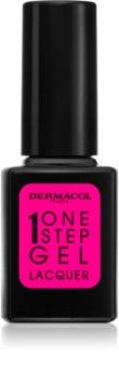 Dermacol One Step Gel Lacquer körömlakk géles hatással