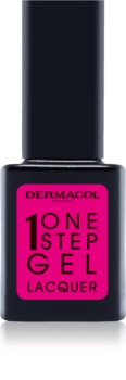 Dermacol One Step Gel Lacquer vernis à ongles effet gel
