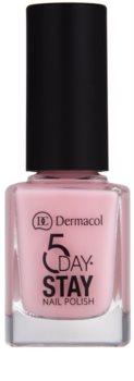 Dermacol 5 Day Stay dlouhotrvající lak na nehty